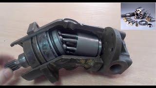 Piston hydraulic pump - construction principle of operation. Piston hydraulic pump