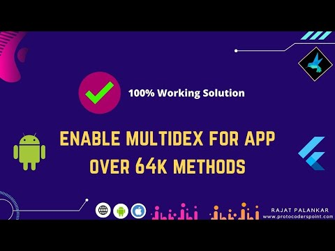 100% error solved | Error while merging dex archives - Multi Dex Enable true.