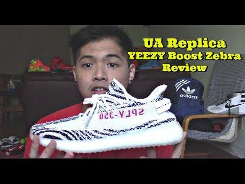 Unauthorized Replica YEEZY Boost 350 V2 Zebra Review From Yesyeezy