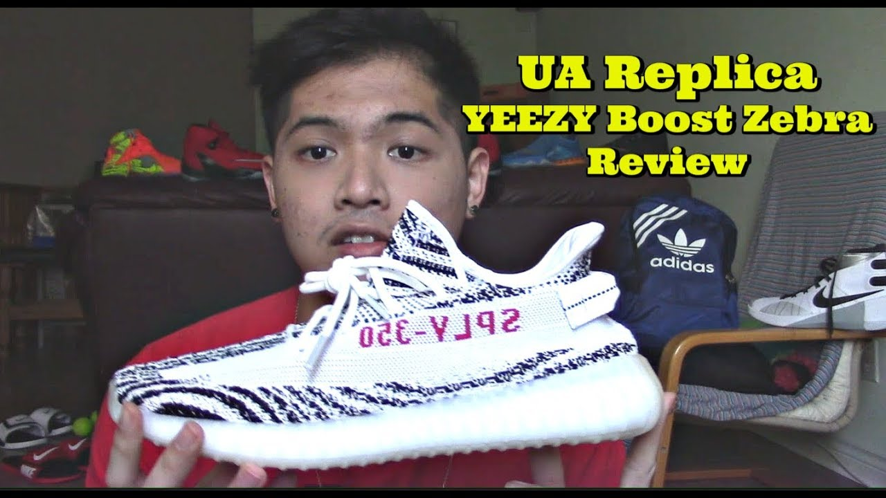 24f2791b5 Unauthorized Replica YEEZY Boost 350 V2 Zebra Review From Yesyeezy.club
