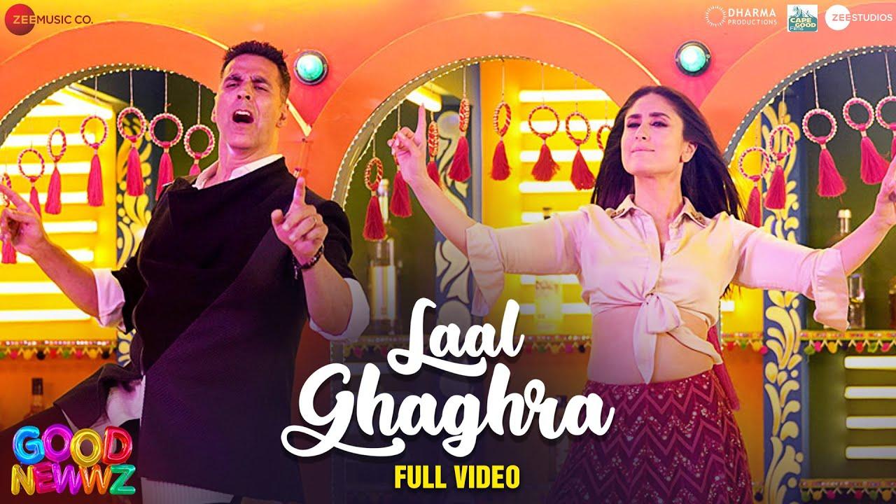 Download Laal Ghaghra - Full Video | Good Newwz | Akshay K, Kareena K| Manj M,Herbie S, Neha K |Tanishk B