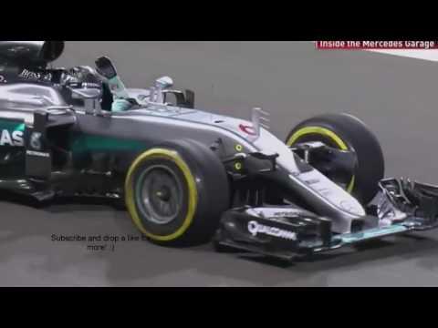 Nico Rosberg Team Radio  f1 2016 abu dhabi