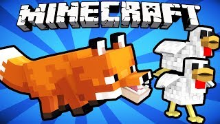 Why Foxes Hate Chickens - Minecraft