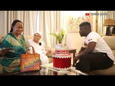 A 107 Years Old  Dream Of Visiting Ghana Came True!-Tulsa Massacre Survivor