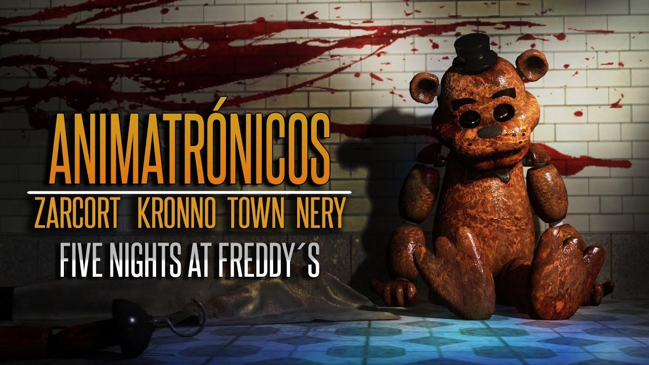 Download ANIMATRÓNICOS RAP FNAF - Kronno, Zarcort, Town, Nery ( Prod.por Sabioprodsknk) (Videoclip Oficial)