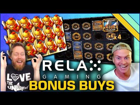 Best Bonus Buy Slots From Relax Gaming