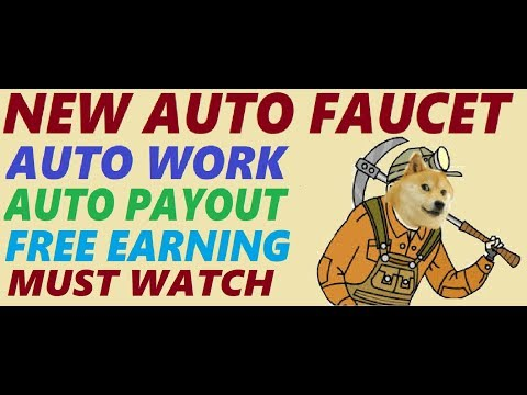 New Auto Working Doge Coin Faucet 2018 | Get Paid Every Minutes Automatic