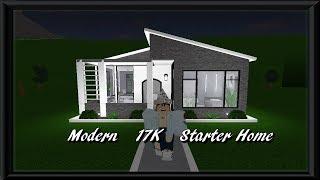 Modern 17K Starter Home | Roblox Bloxburg |