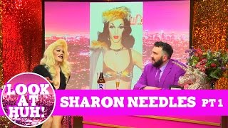 Sharon Needles: Look at Huh SUPERSIZED Pt 1 on Hey Qween! with Jonny McGovern | Hey Qween