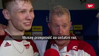 Vital Heynen przerwał wywiad z siatkarzem reprezentacji Polski.