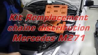 outils calage chaine distribution Mercedes moteur M271