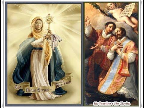 30.05.2013 - Mensagem de Maria Santíssima | São Faustino | Palestra do Vidente Marcos Tadeu