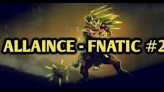 Alliance vs Fnatic (Team Malaysia) Full HIghlights joindota MLG Pro League Season 2 Game 2