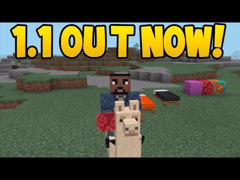 Minecraft Pocket Edition - 1.1 Update! - OUT NOW! / All New Features
