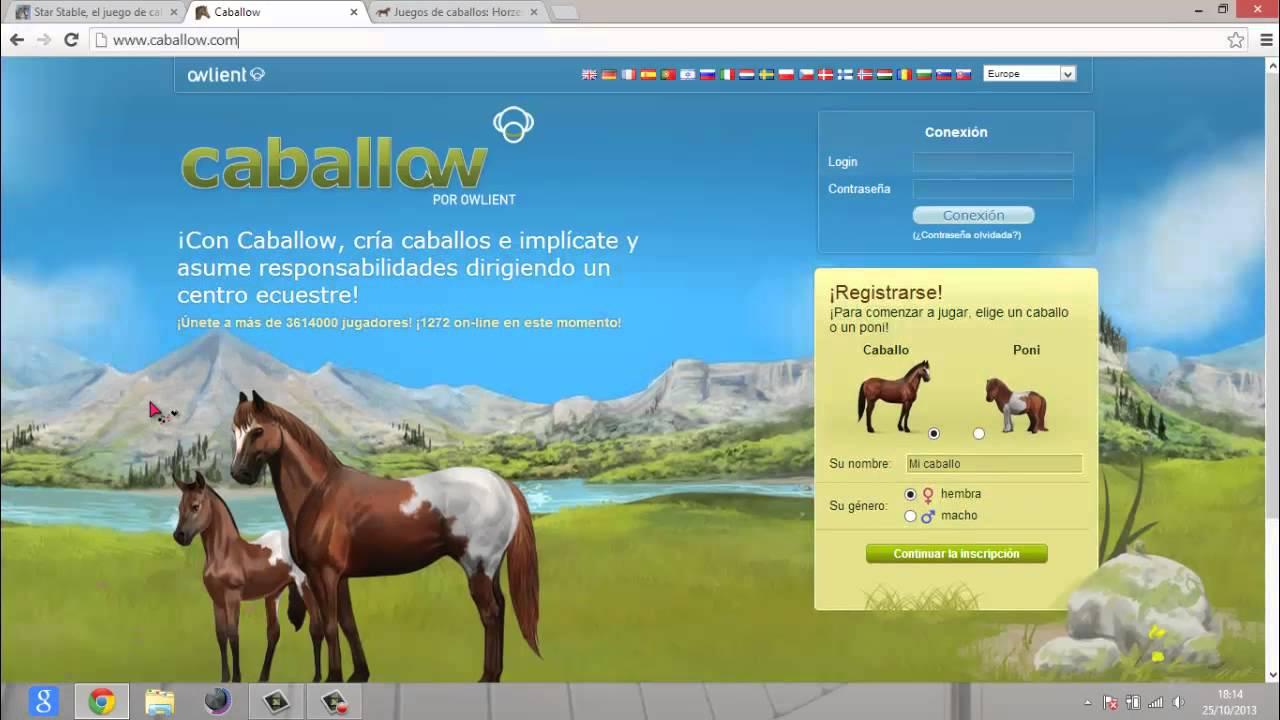 Juegos de caballos online  YouTube