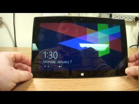 Review Of The New Microsoft Surface Tablet.