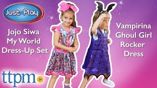 Vampirina Ghoul Girl Rocker Dress and Jojo Siwa My World Dress-Up Set from Just Play
