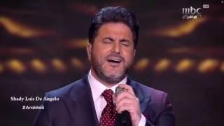 عرب ايدول الفنان ملحم زين على الميعاد اجيتك Arab Idol 2016