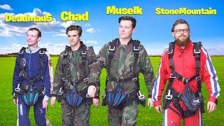 so we jumped out of a plane...