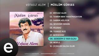 Sebebim O Yar Oldu (Müslüm Gürses) Official Audio #sebebimoyaroldu #müslümgürses - Esen Müzik