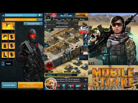 Mobile Strike -Episode 36- T6 Troops Are In! I Don't Have ANY THOUGH! Time To Leave Mobile Strike...