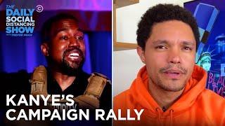 Kanye's 2020 Rally, Trader Joe's Axed Packaging & Bigot Basket | The Daily Social Distancing Show