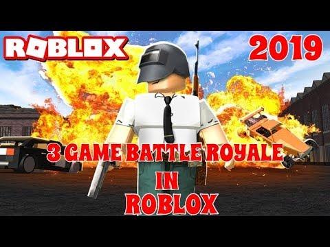 roblox battle royale games