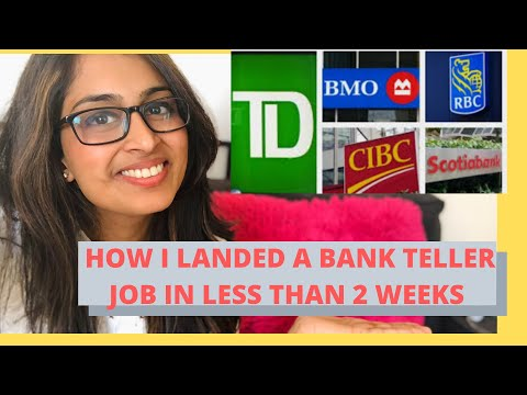 How I Landed A Bank Job In Canada As An International Student In 2 Weeks - What Worked For Me!!!