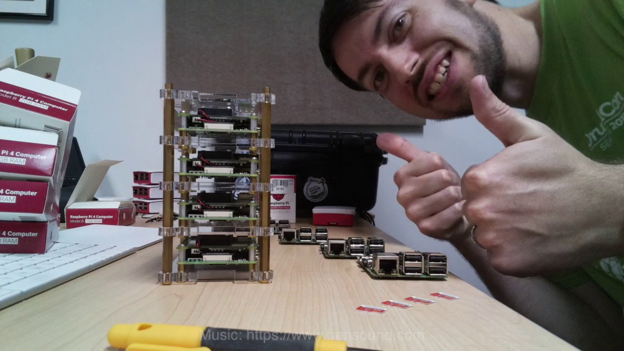 Raspberry Pi Dramble Cluster Upgrade - 3 B+ to 4