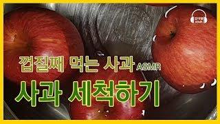 '사과 세척하기…