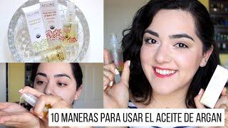10 Maneras Para Usar el Aceite de Argan | Laura Neuzeth