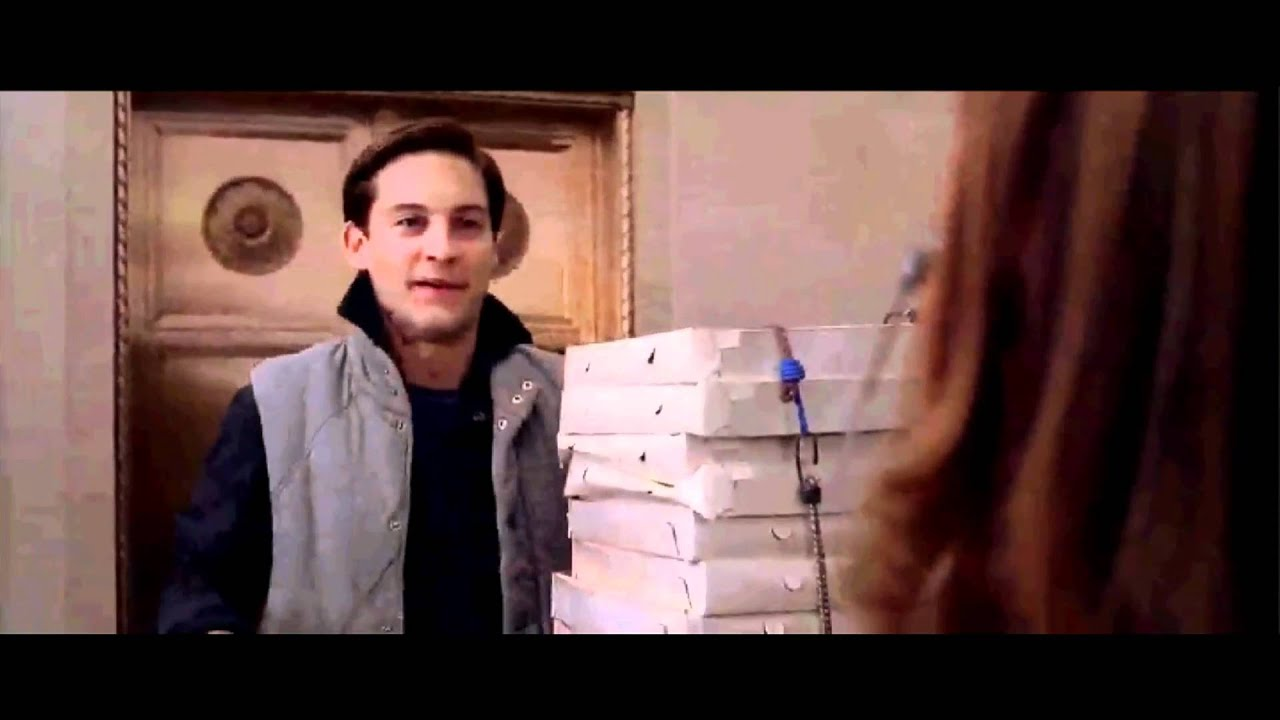 spiderman 21 pizza delivery extended clip youtube