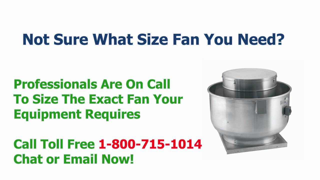 Restaurant Kitchen Exhaust Fans commercial kitchen exhaust fans - same day shipping - youtube