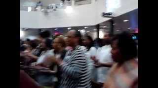 happy song at St. Mark Missionary Baptist Church Portsmouth Virginia