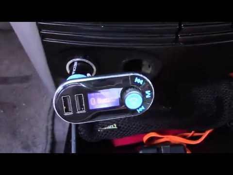 VicTsing Hands free Bluetooth FM Transmitter Car Kit Review