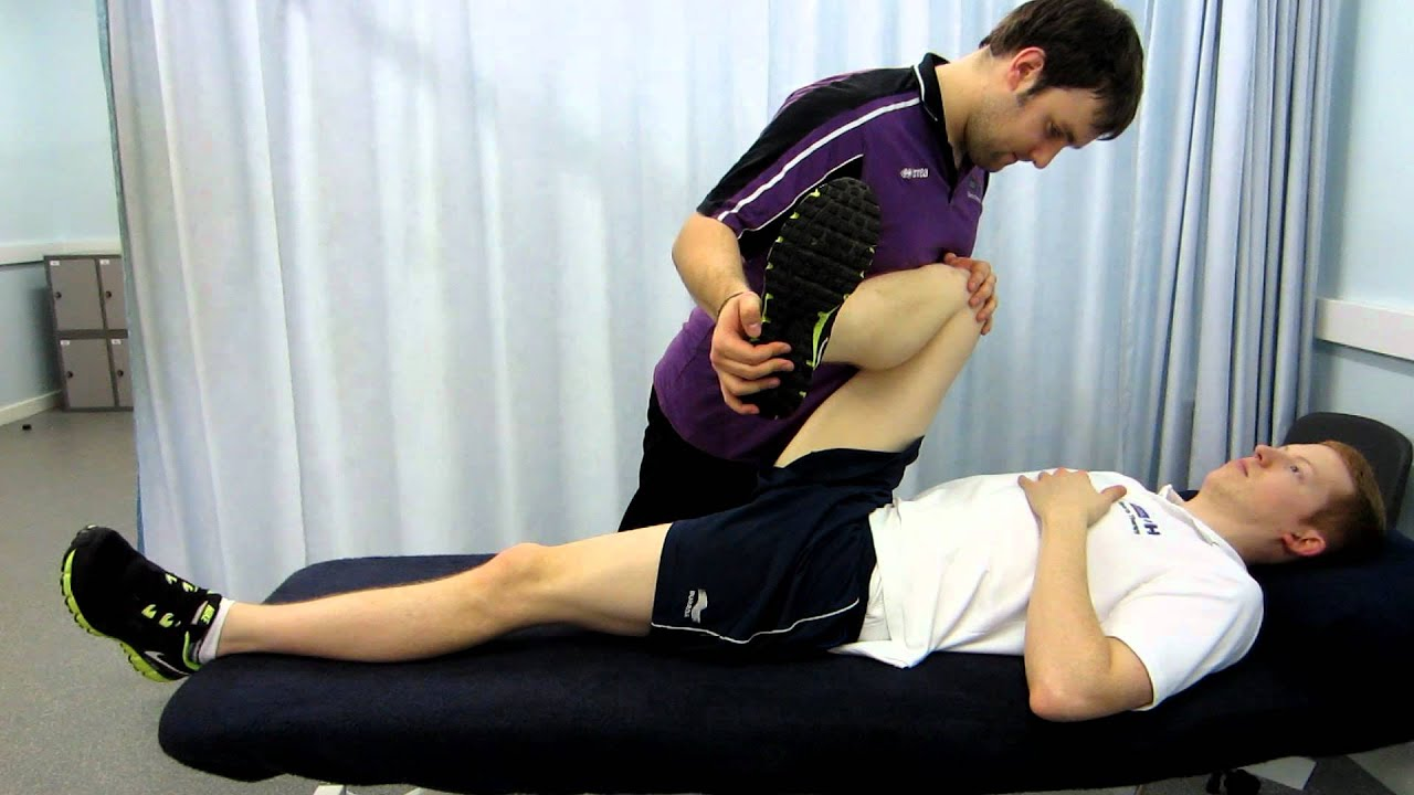 PNF Glute Stretch, with commentary - YouTube
