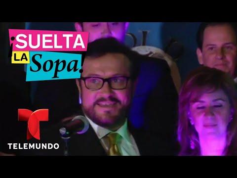Arturo Peniche describió cuando besó a Thalía con aliento a cebolla | Suelta La Sopa | Entreteni