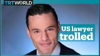 US lawyer behind hate-filled rants trolled