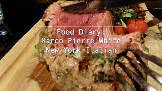 Food Vlog: 去食馬可(戈登的師傅)的餐廳 | Marco Pierre White New York Italian Restaurant |