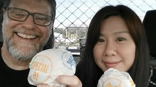 Mcdonalds Chicken N Cheese Burger Review Live!