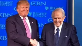 Pat Robertson and Trump On Kavanuagh Accusers