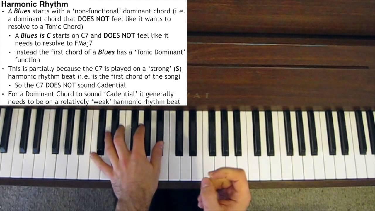 Jazz piano tutorial harmonic rhythm youtube hexwebz Image collections