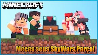 Meninos VS Meninas - Meças seus SkyWars,Parça!