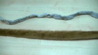 видео Меховая шапка из кролика, молодежная коллекция изделий из натурального меха.