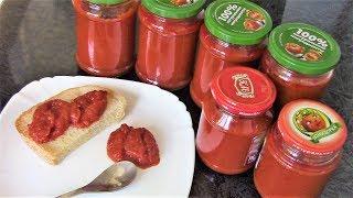 Болгарский соус лютеницу можно уплетать даже просто намазав на хлеб.