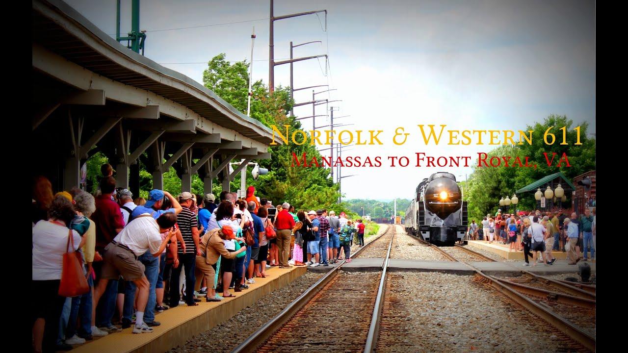N&W 611: Manassas to Front Royal VA - YouTube
