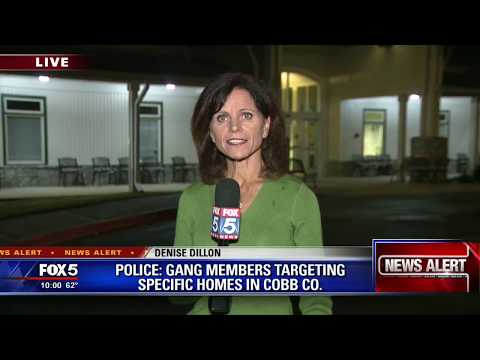 Cobb County community targeted by gang