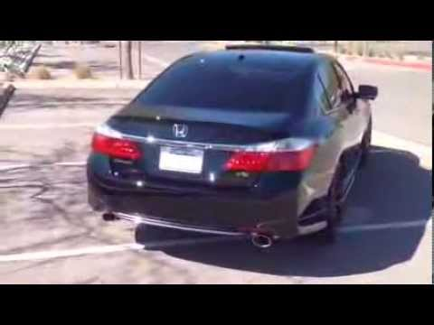 9th Gen 2014 Honda Accord Bodykit Lowered With Vossen Like 20