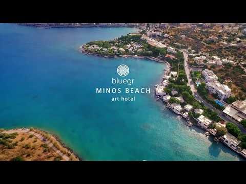 Minos Beach Art Hotel - 5 Star Luxury Hotel In Crete