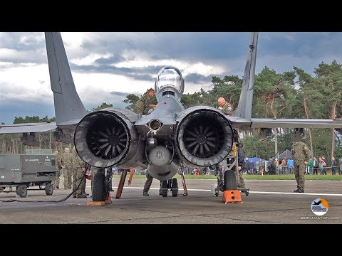 MiG-29 start-up to shut down | Polish Air Force | Kleine Brogel Air Base
